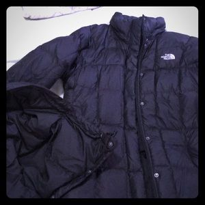Women's SMALL BLACK NORTHFACE PARKA